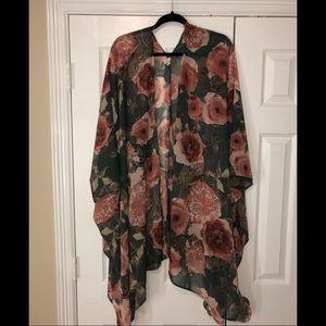 Pinkblush kimono